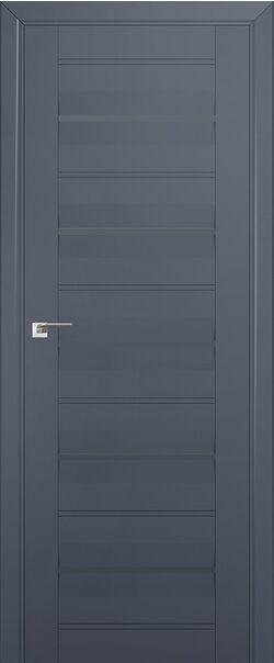 Межкомнатные двери экошпон 48U Антрацит