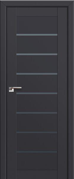 Межкомнатные двери 71U Антрацит