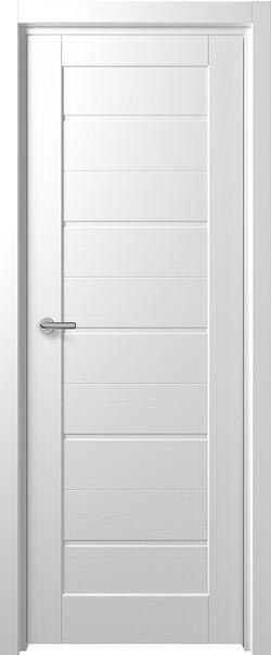 Межкомнатные двери МДФ Фикс F-1 Белые