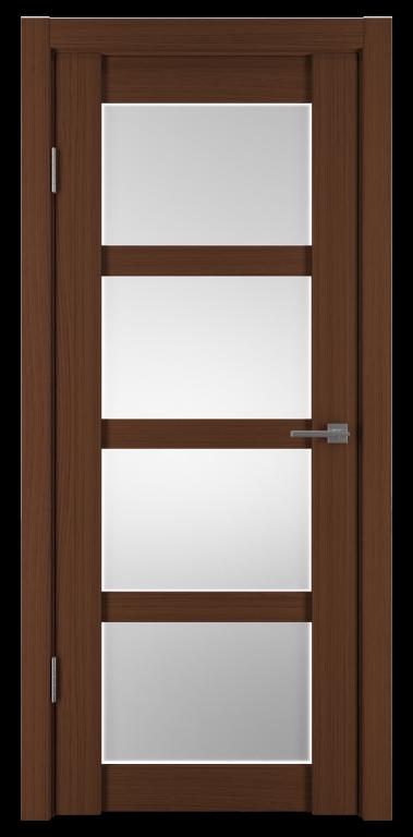 Межкомнатные двери экошпон Горизонталь-12 Каштан исток