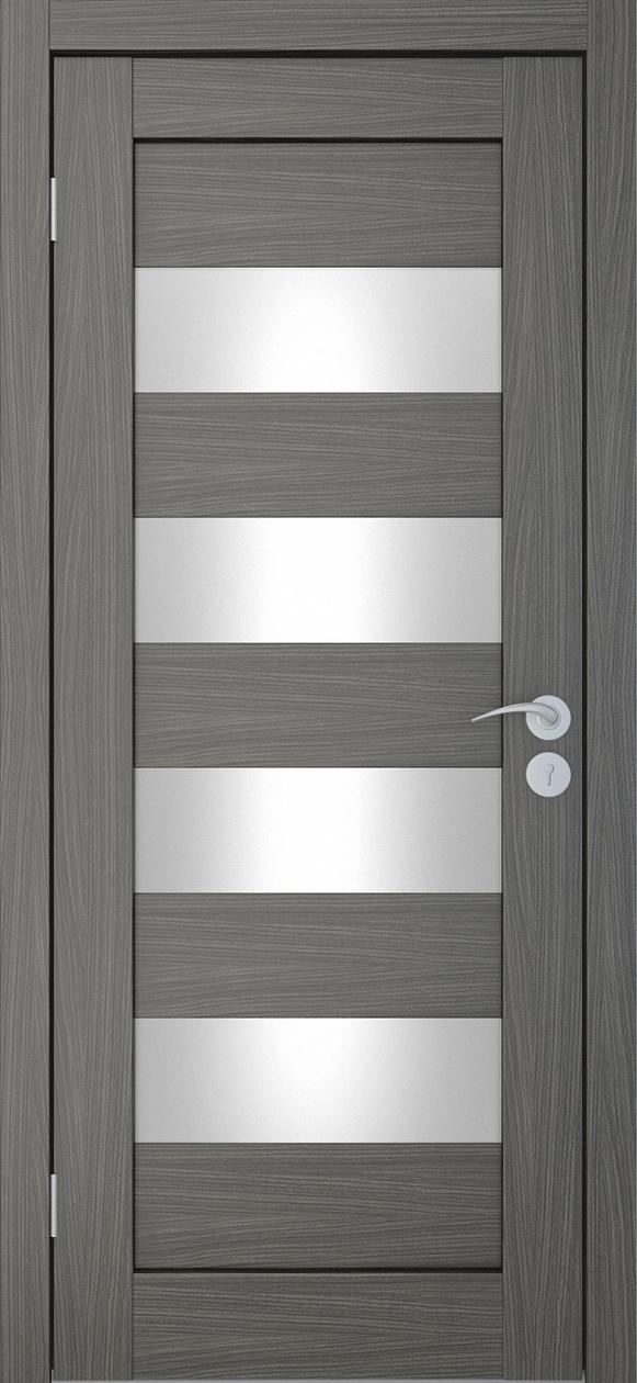 Межкомнатные двери экошпон Горизонталь-2 Дуб неаполь Исток