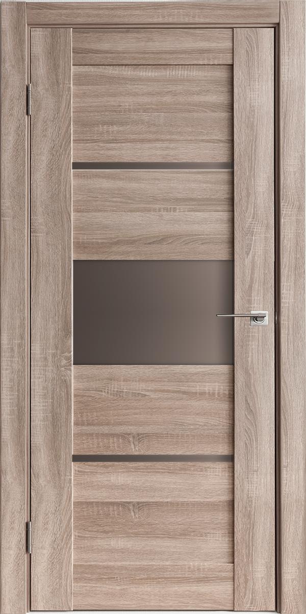 Межкомнатные двери Горизонталь -3 Спил седой Исток