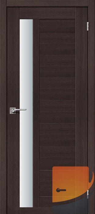 Межкомнатные двери Портас S28 Орех шоколад