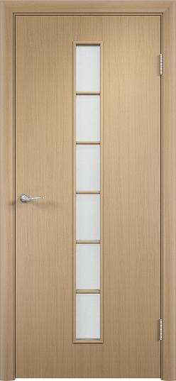 Межкомнатные двери МДФ с-12 Беленый дуб