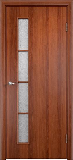 Межкомнатные двери МДФ С-14 Итальянский орех