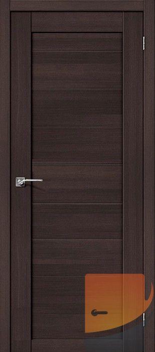 Межкомнатные двери Портас S20 Орех шоколад