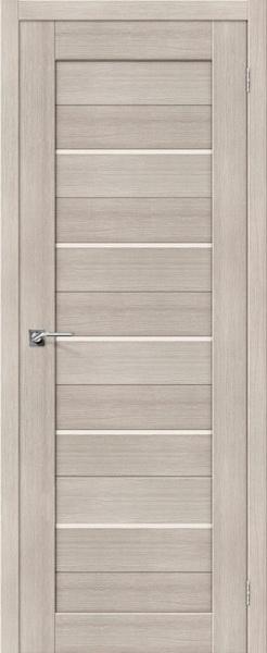 Межкомнатные двери экошпон Портас S20 лиственница крем
