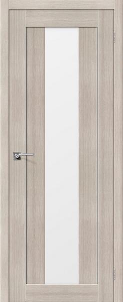 Межкомнатные двери экошпон Портас s23 Лиственница крем