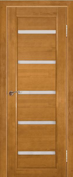 Межкомнатные двери из массива сосны Вега-5 Светлый орех