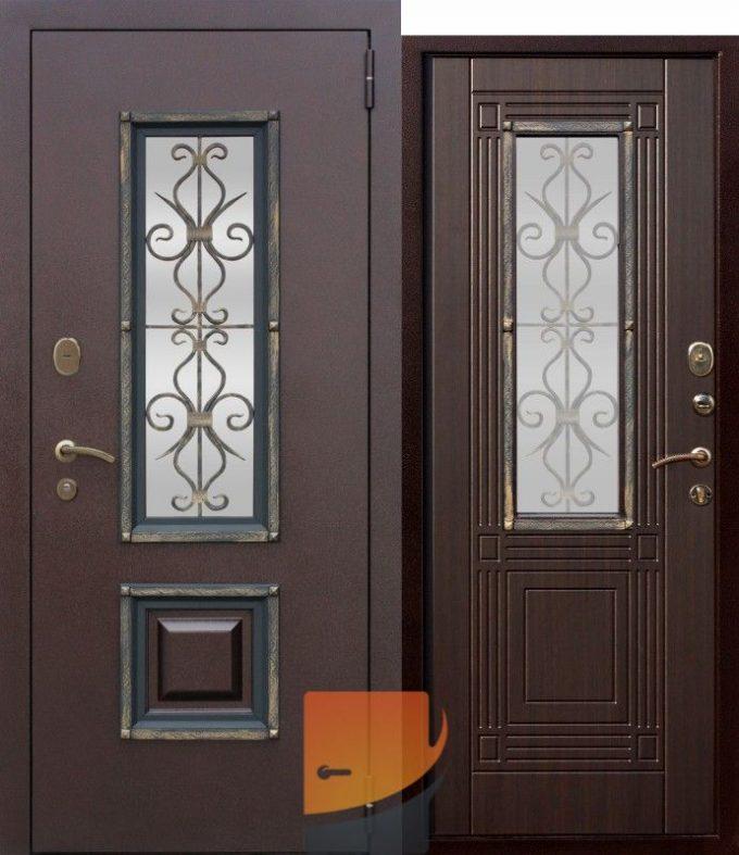 Дверь входная металлическая Гарда Венеция