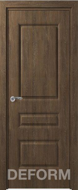 Межкомнатная Дверь Алессандро ДГ Дуб шале корица