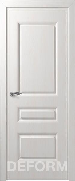 Межкомнатные двери экошпон Алессандро ДГ Дуб шале снежный