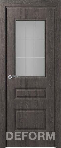 Межкомнатная дверь Алессандро До Дуб шале графит