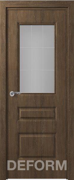 Межкомнатная дверь Алессандро До Дуб шале корица