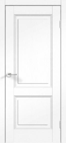 Межкомнатная дверь экошпон Alto 6Р Ясень белый