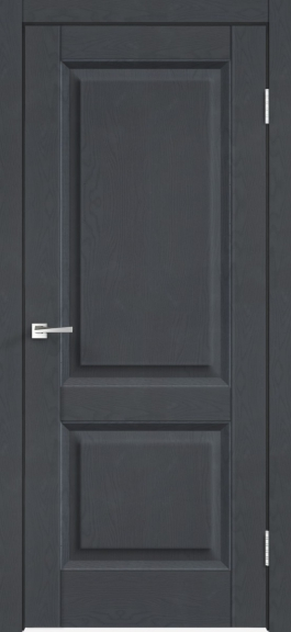 Межкомнатная дверь экошпон Alto 6Р Ясень графит