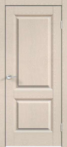 Межкомнатная дверь экошпон Alto 6Р Ясень каппучино