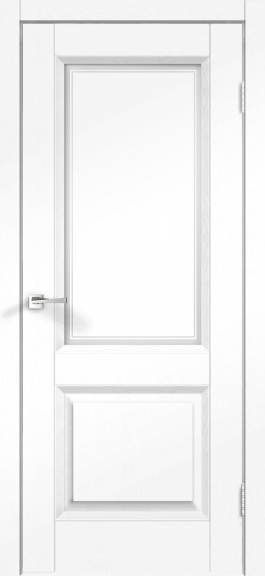 Межкомнатные двери экошпон Alto 6V Ясень белый