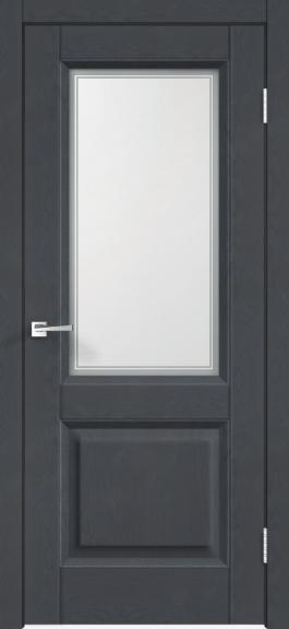 Межкомнатная дверь экошпон Alto 6V Ясень графит