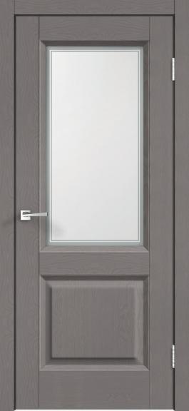 Межкомнатная дверь экошпон Alto 6V Ясень грей