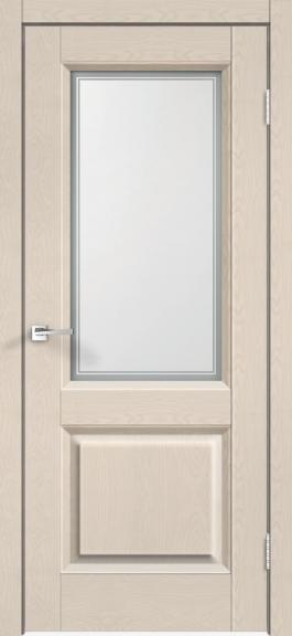 Межкомнатная дверь экошпон Alto 6V Ясень каппучино