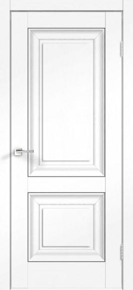 Межкомнатная дверь экошпон Alto 7Р Ясень белый