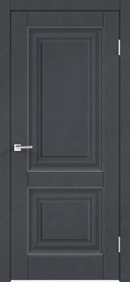 Межкомнатная дверь экошпон Alto 7Р Ясень графит
