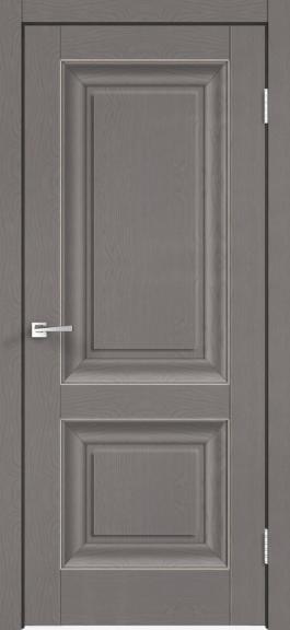 Межкомнатная дверь экошпон Alto 7Р Ясень грей