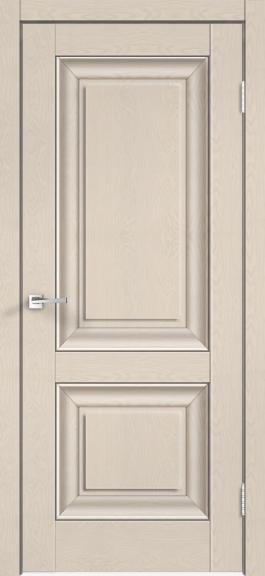 Межкомнатная дверь экошпон Alto 7Р Ясень каппучино
