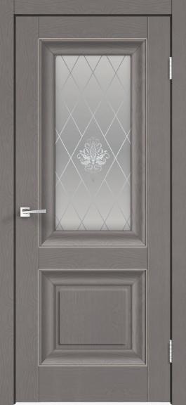 Межкомнатная дверь экошпон Alto 7V Ясень грей
