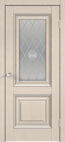 Межкомнатная дверь экошпон Alto 7V Ясень капучино