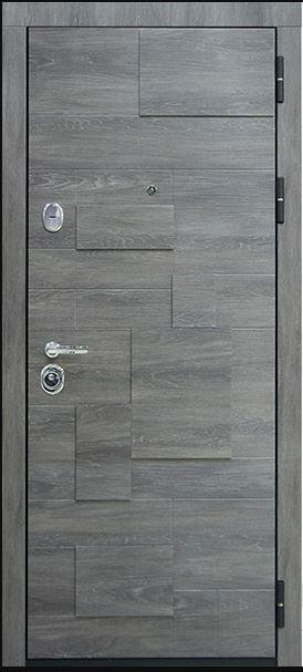 Дверь входная Бруно-2 Дуб шале графит