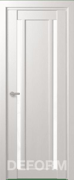 Межкомнатные двери Deform D13 Дуб шале снежный