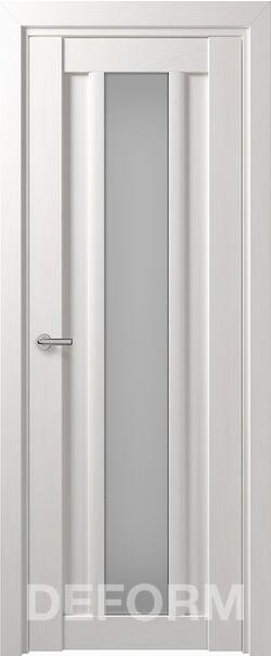 Межкомнатные двери Deform D14 Дуб шале снежный