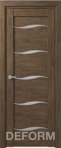Межкомнатная дверь Deform D1 Dub Shale-korica