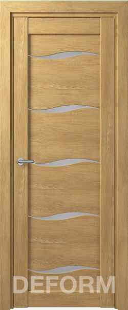 Межкомнатная дверь Deform D1 Dub Shale-naturalnyi
