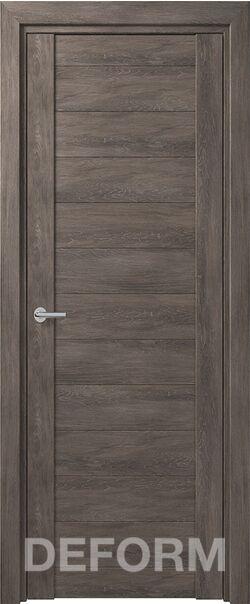 Межкомнатная дверь Deform D10 Дуб Шале графит