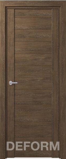 Межкомнатная дверь Deform D10 Дуб шале корица