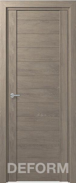 Межкомнатная дверь Deform D10 Дуб шале седой