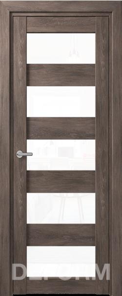 Межкомнатные двери Deform D12 дуб шале графит