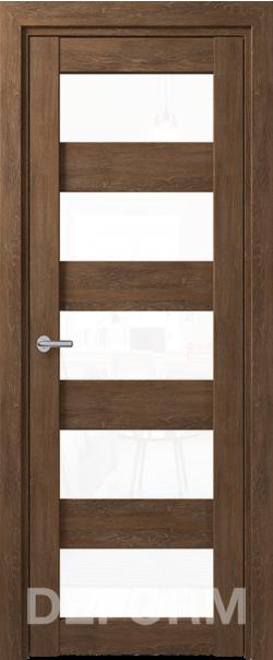 Межкомнатные двери Deform D12 Дуб шале корица