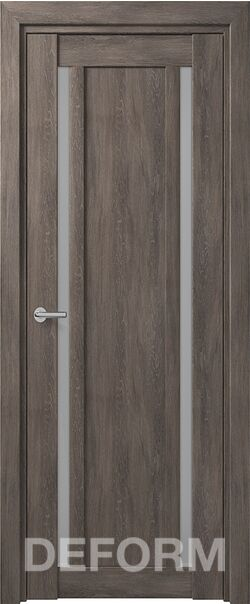 Межкомнатная дверь Deform D13 Дуб шале графит
