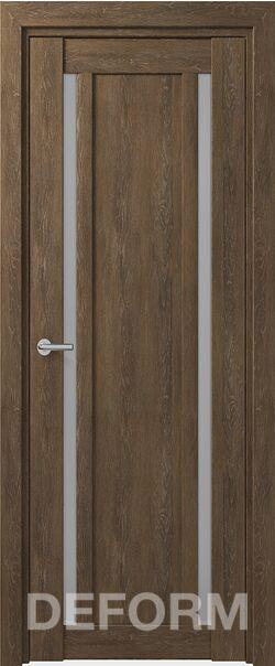 Межкомнатная дверь Deform D13 Дуб шале корица