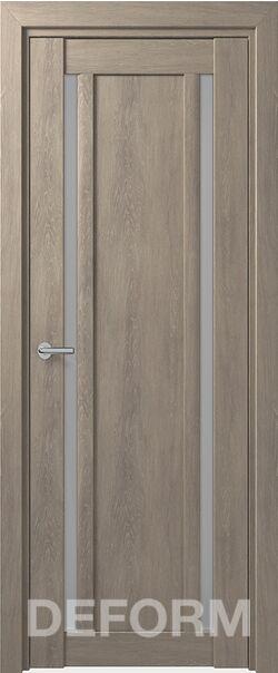 Межкомнатная дверь Deform D13 Дуб шале седой