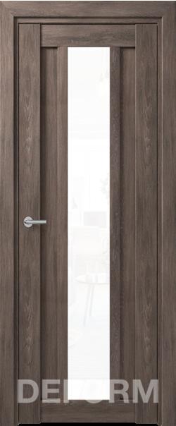 Межкомнатная дверь Deform D14 Дуб шале графит