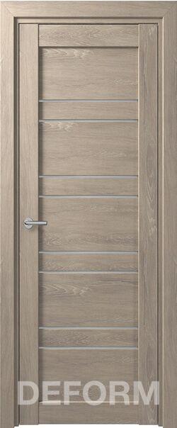 Межкомнатная дверь Deform D15 Дуб шале седой