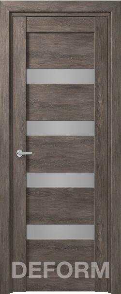 Межкомнатная дверьDeform D16 Дуб шале графит