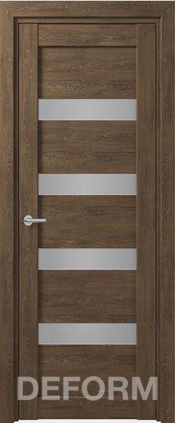 Межкомнатная дверь Deform D16 Дуб шале корица