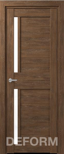 Межкомнатная дверь Deform D17 Dub Shale-korica