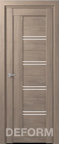 Межкомнатная дверь Deform D18 Dub Shale-sedoi
